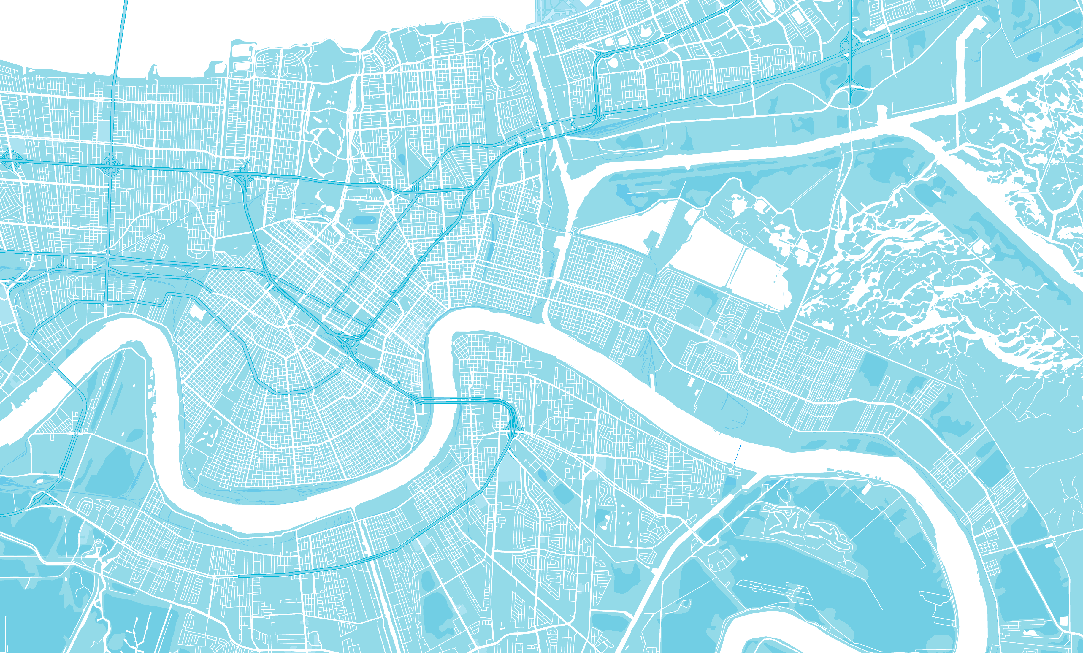 SBEDF map print